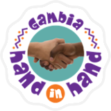 hand in hand gambia Logo